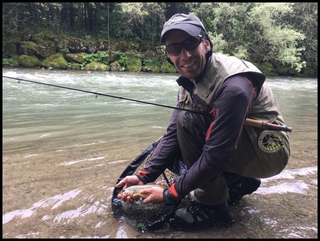 pêche à la mouche en nymphe en Haute-Savoie et Savoie